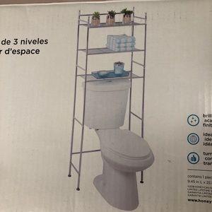 NWT 🌼 Three tier bathroom shelf